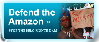 Defend the Amazon, Stop the Belo Monte Dam
